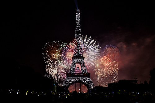 Bastille Day Fun in Paris!