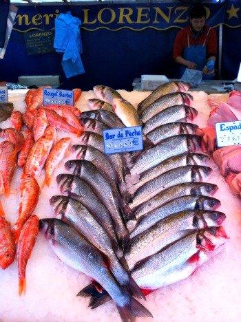 President Wilson Market Paris Beautiful Fish display