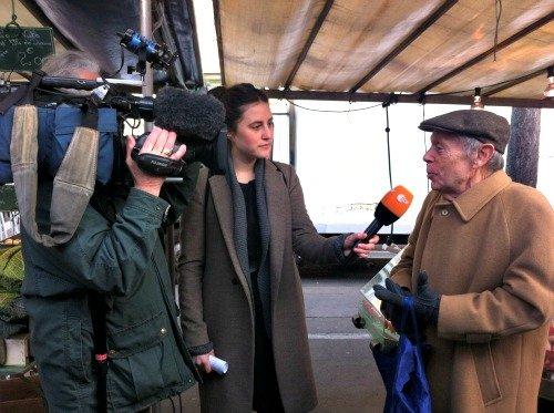 President Wilson Market Paris Interview