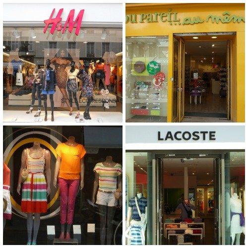 Shopping on Rue du Commerce