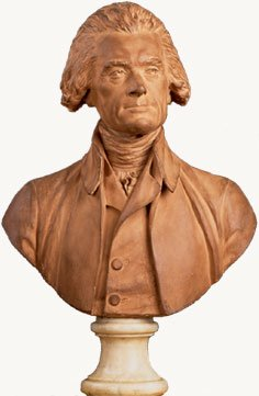 Thomas Jefferson Jean Antoine Houdon