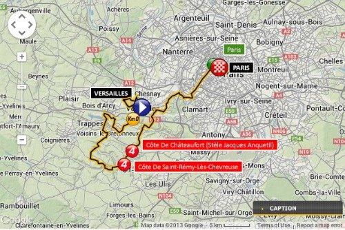 Tour de France Paris 2013
