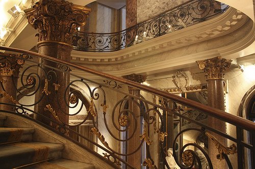 Jacquemart Andre Museum Paris Marble Staircase
