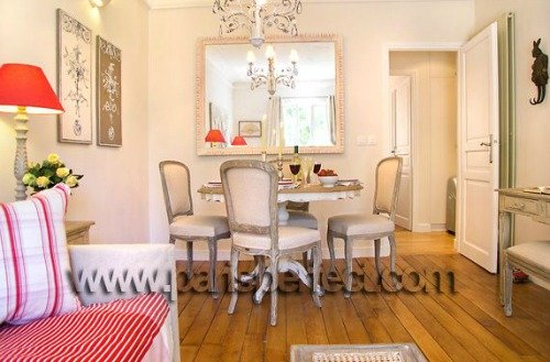 Charming Dining Area and Living Room