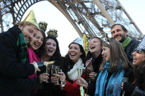 Eiffel Tower Tour New Year 2013