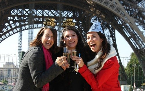 New Year's Celebration – A Special Eiffel Tower Tour!