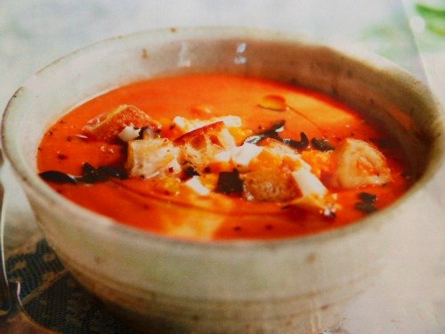 Recipe for Quick and Delicious Chilled Gazpacho