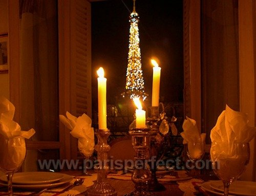 Paris Perfect Givry Vacation Rental with Eiffel Tower View