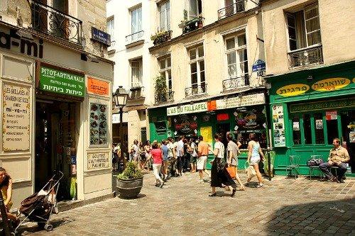 Sunday in the Marais Paris