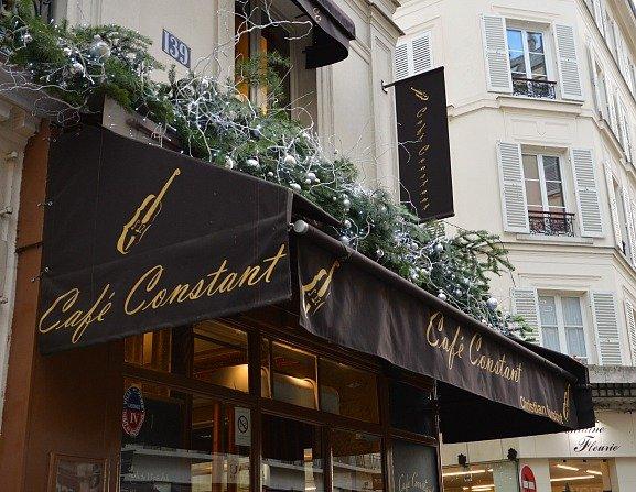 Cafe Constant Paris Christmas