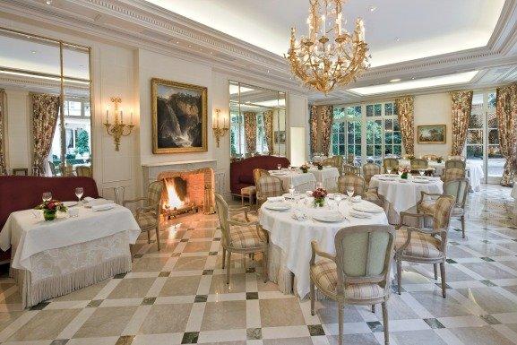 Le Bristol Christmas Dining in Paris