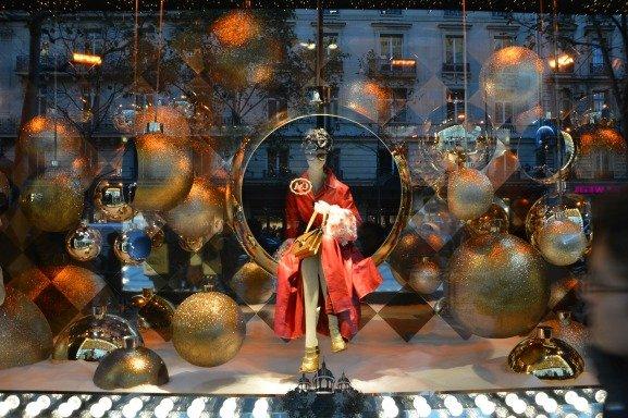 Printemps Christmas Windows Prada Elegance
