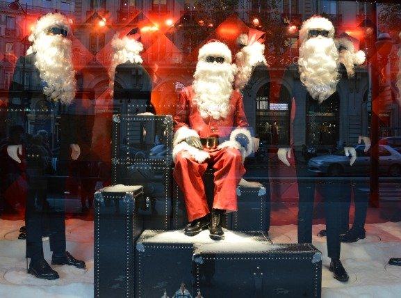 Printemps Paris Santa Claus Prada