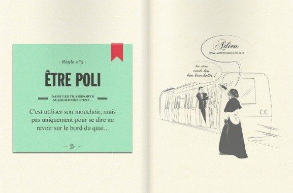 RATP Etiquette Guide Rule 5