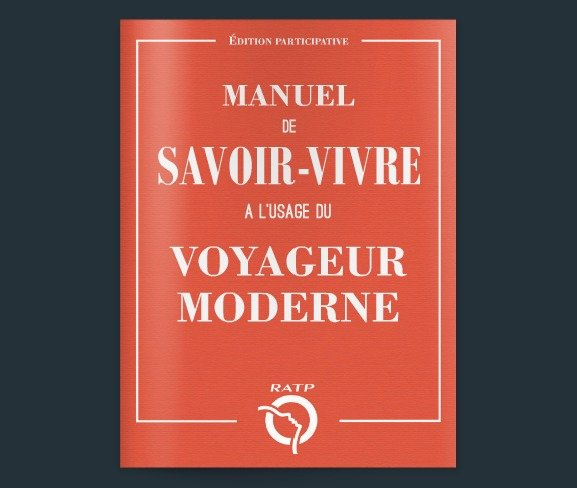 Cute New Etiquette Guide for the Metro in Paris