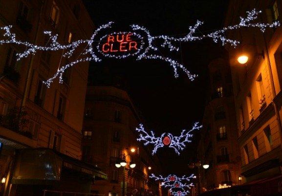 Rue Cler Holiday Lights