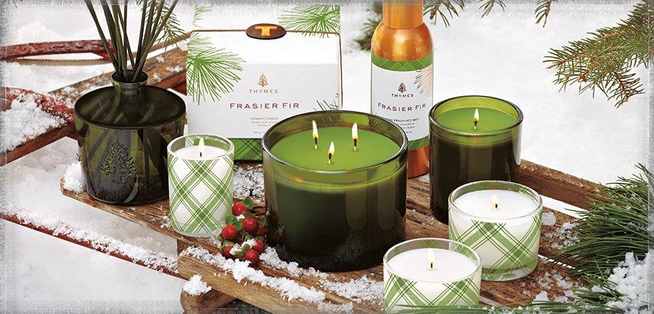 x thymes best frasier fir candles