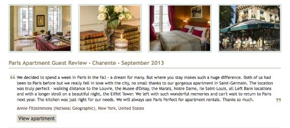 Charente Guest Review