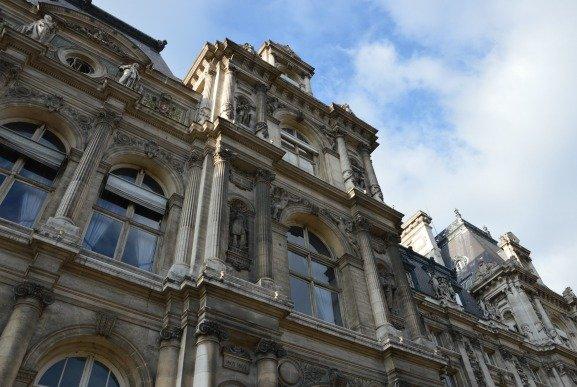 Brassai at the Hotel de Ville in Paris