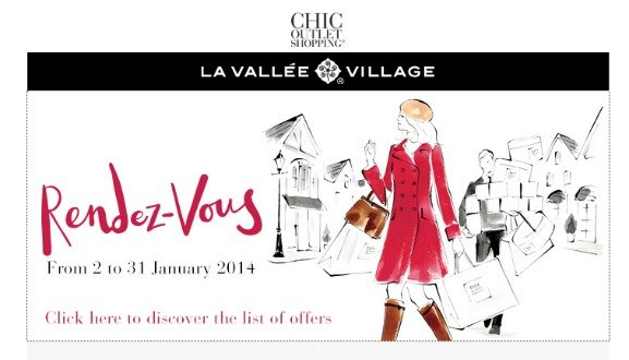 Fabulous Designer Outlet Sales at La Vallée Village