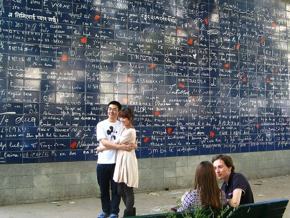 The I Love You Wall Montmartre Paris