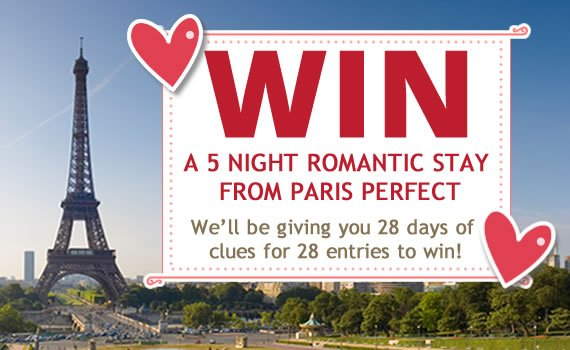 Win a Paris Stay Giveaway