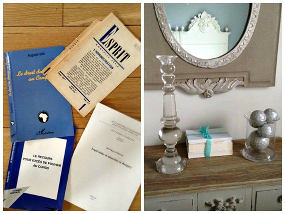 Old French Paperbacks – A Decorating Idea!