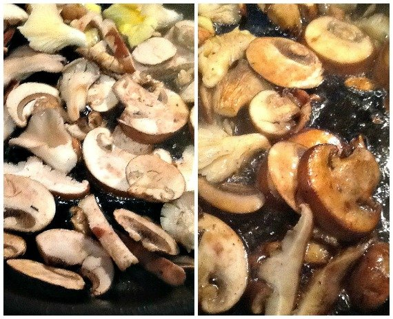 French Recipe for Sauteed Mushrooms