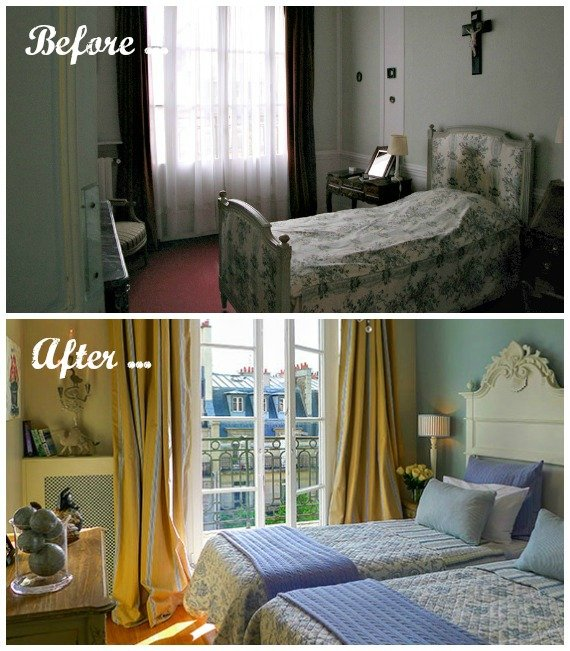 Paris Perfect Margaux Before and After