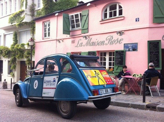Montmartre Car Tours in Paris