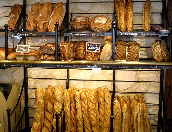 Paris Boulangerie, Bread, Bakery