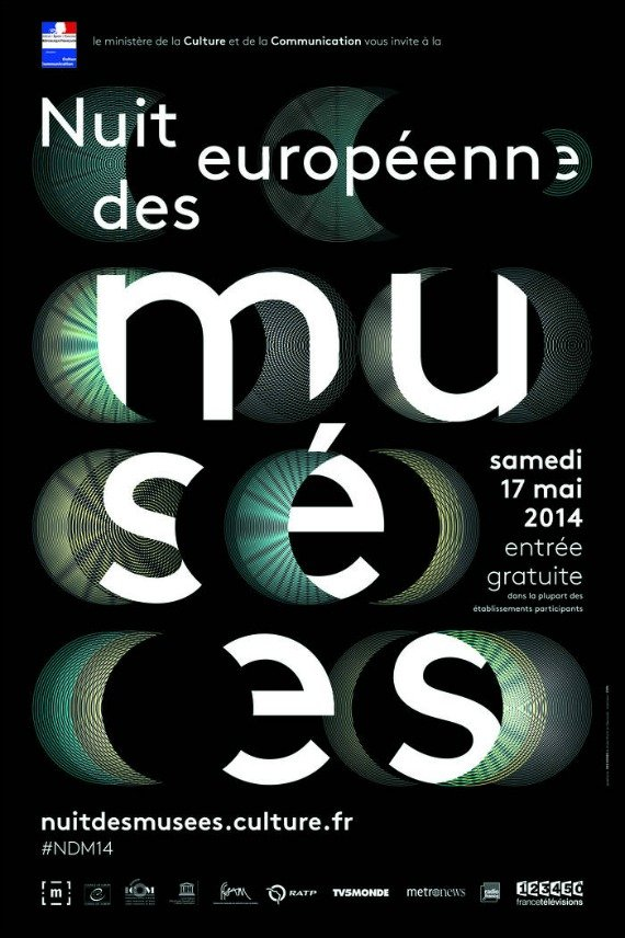 European night of Museums Paris