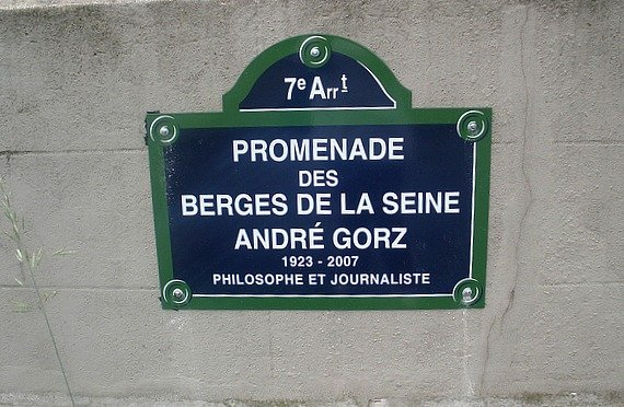 Les Berges de la Seine Paris Sign