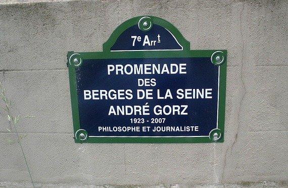 Les Berges de la Seine Paris Sign