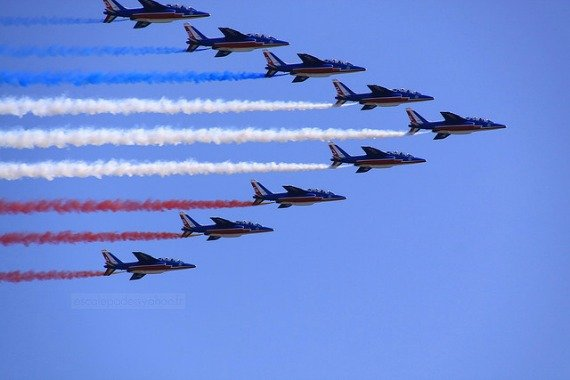 Bastille Day Parade and Flyover Paris