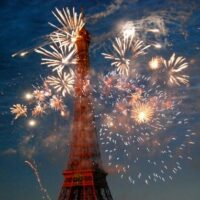 Bastille Day Paris Fireworks