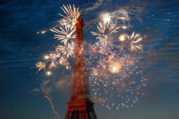 Spectacular Bastille Day Fireworks!