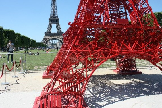Fermob Eiffel Tower Bistro Chair Champ de Mars