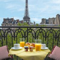 Paris Apartment Rental with Eiffel Tower View