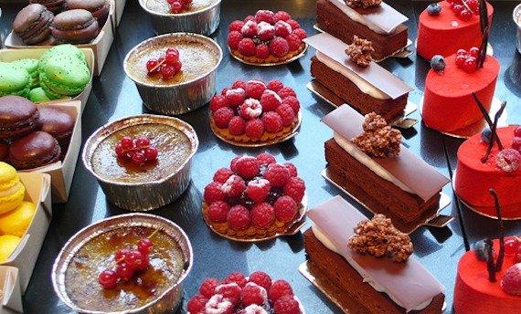Raspberry Pastry Parisian Bakery