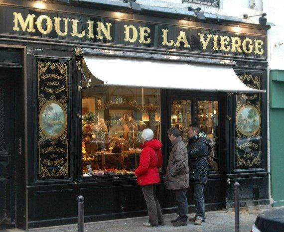 Moulin de la Vierge boulangerie rue st. dominique