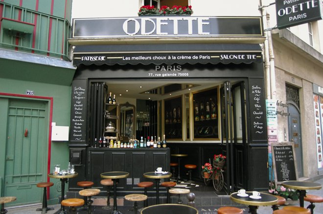 Paris Pastry Shops | The Best Cream Puffs at Odette