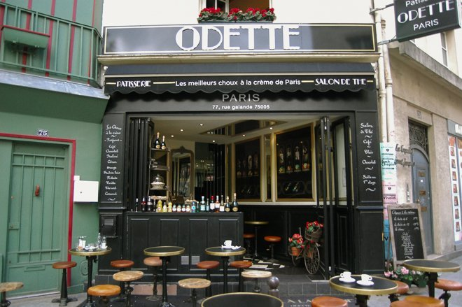 Best Pastry Shop Paris Odette Notre Dame