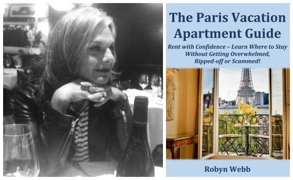 Robyn Webb Author of The Paris Vacation Apartment Guide