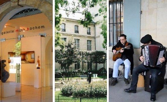 paris short term holiday rental in the marais