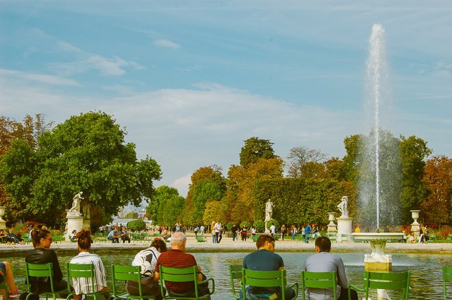 Autumn Beauty in Paris