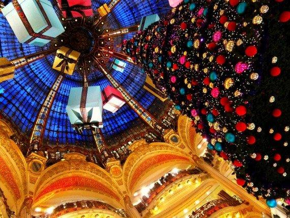 Galeries Lafayette Christmas Decorations Paris