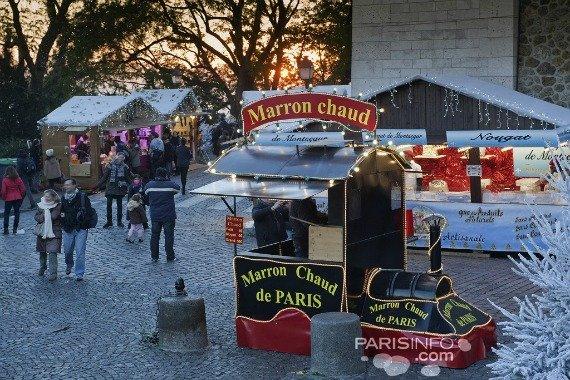 Montmartre Christmas Market Paris