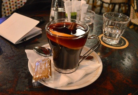 Mulled Wine in Paris on Rue Cler