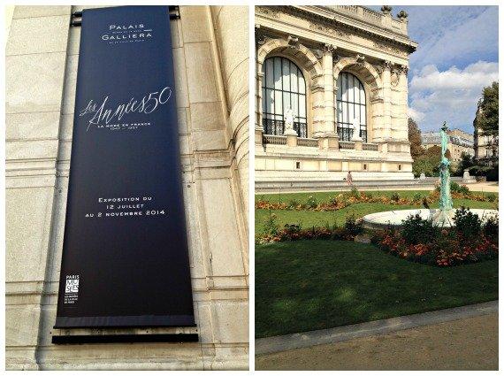 Palais Galliera Fashion 50s Exhibition Paris France